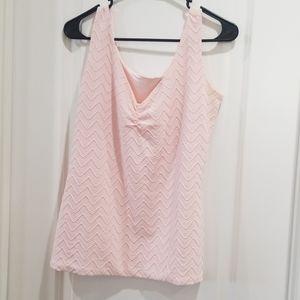 WHBM pink tank top